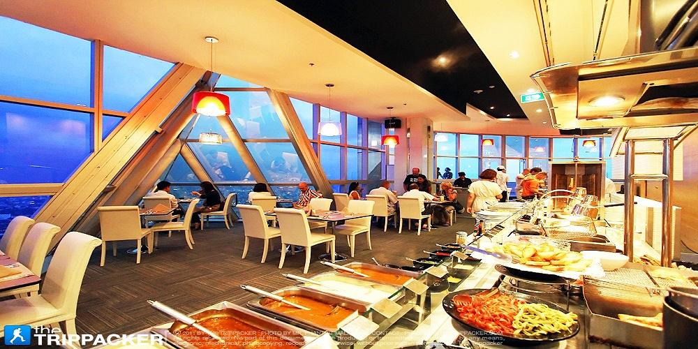 Baiyoke Sky – nhà hàng xoay 86 CCV